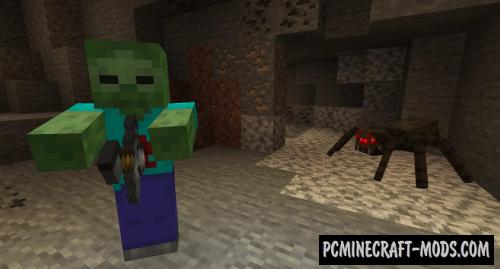 Tom's Biome Mobs Texture Pack For Minecraft 1.15.2, 1.14.4