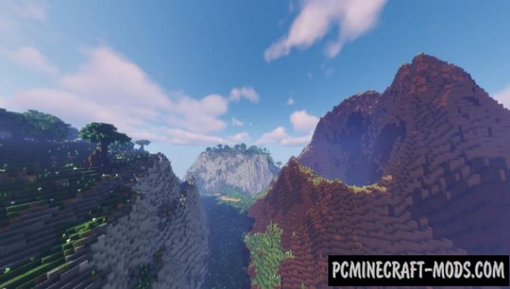 Pax Rocklands - Survival Map For Minecraft