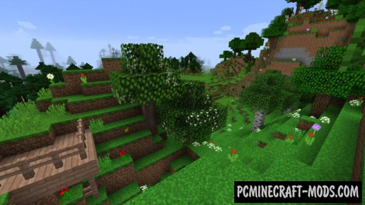 Fruit Trees - Food, Decor Mod For Minecraft 1.16.3, 1.15.2
