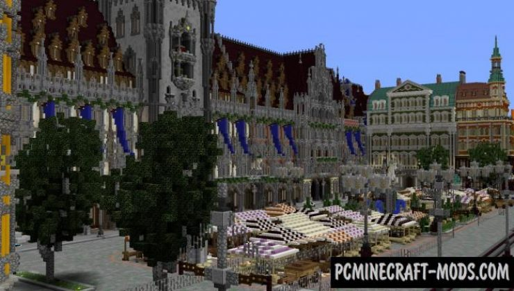 Imperial City - Modern City Map For Minecraft