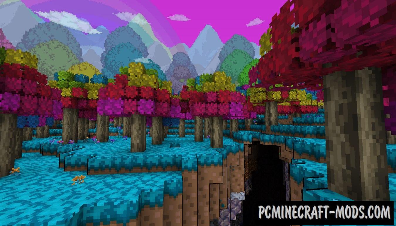 TerrariaCraft 3D Resource Pack For Minecraft 1.17.1, 1.16.5