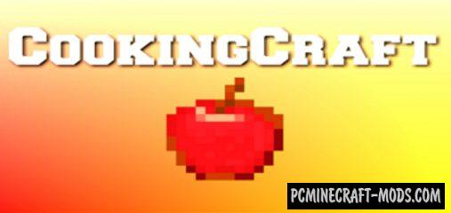 CookingCraft Addon For Minecraft PE 1.15, 1.14 iOS/Android