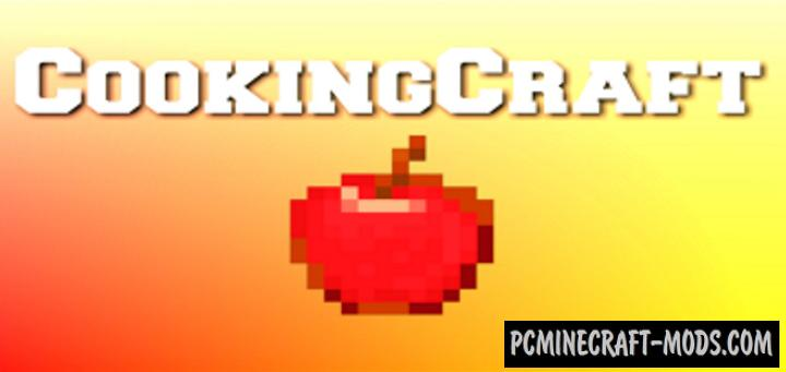 CookingCraft Addon For Minecraft PE 1.16, 1.14 iOS/Android