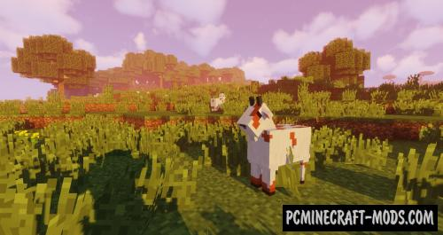 Just A Regular Goat - Creatures Mod For Minecraft 1.15.2