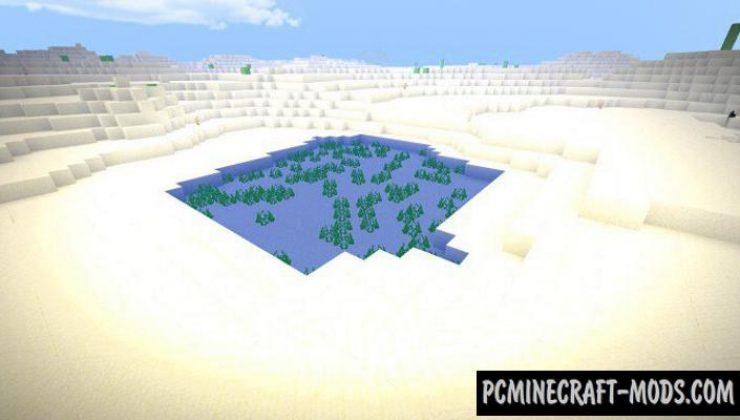 Infinite Desert - Biome Addon For Minecraft Bedrock 1.16, 1.14