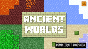Ancient Worlds - Adv, Puzzle Map For Minecraft