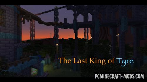 The Last King of Tyre - Adv Map For Minecraft