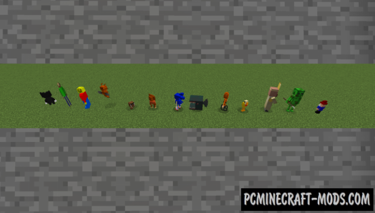 Random Craft - Mobs, Items Mod For Minecraft 1.12.2