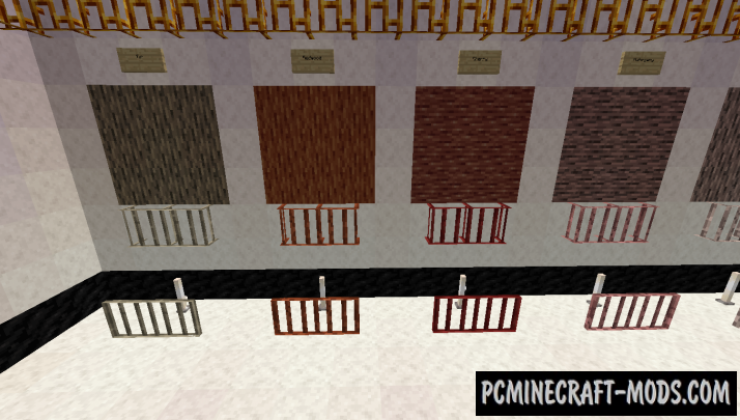 Additional Bars - Decor Blocks Mod For MC 1.16.3, 1.15.2