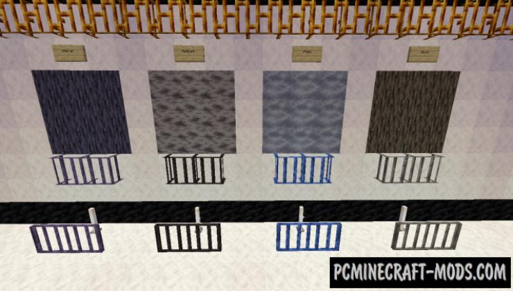 Additional Bars - Decor Blocks Mod For MC 1.17.1, 1.16.5