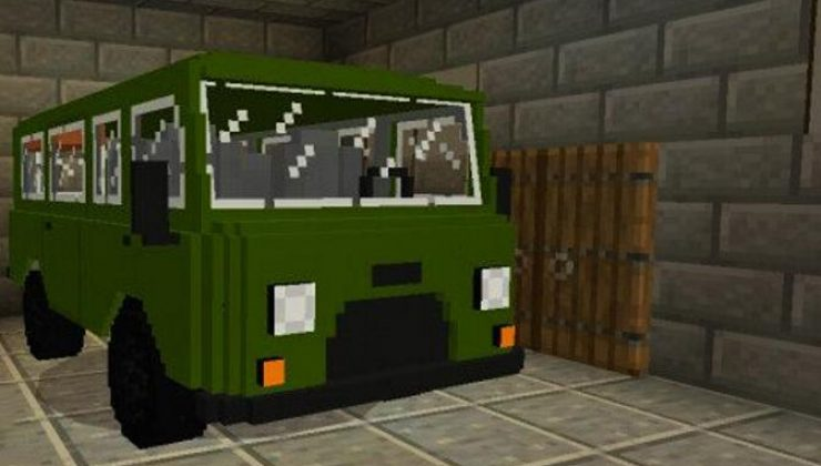 UAZ 452 Addon For Minecraft 1.16, 1.14 iOS/Android