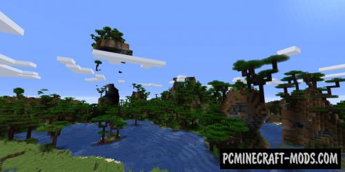 Atmospheric - Biomes, Gen Mod For Minecraft 1.16.5, 1.16.4