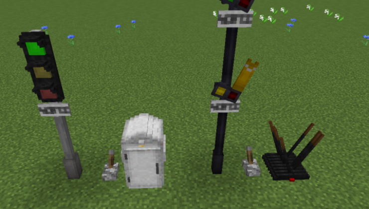 Signal Stuff - Mech, Decor Mod For Minecraft 1.12.2