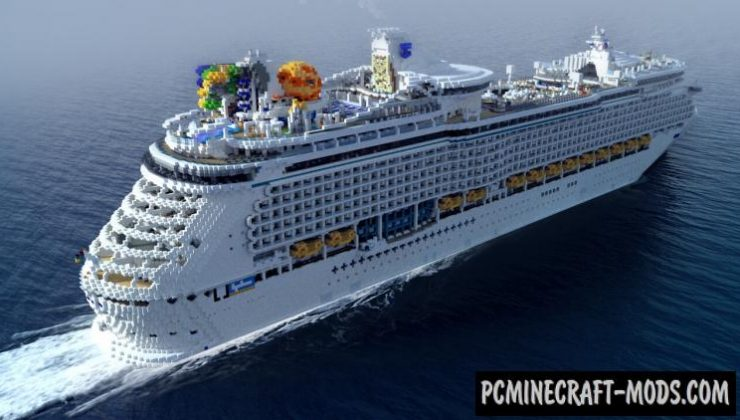 Mariner of the Seas - Building, Adv Map For Minecraft