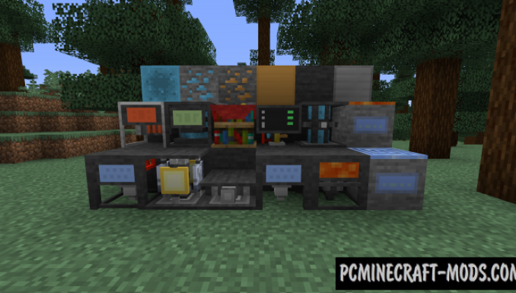 Network 2 - Technology Mod For Minecraft 1.14.4