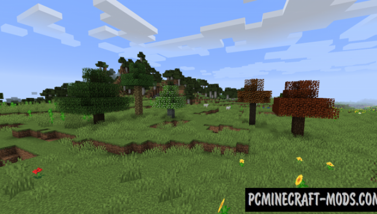 Premium Wood - Decor Mod For Minecraft 1.16.5, 1.16.4, 1.14.4