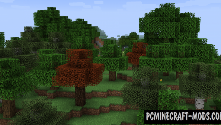 Premium Wood - Decor Mod For Minecraft 1.16.4, 1.15.2, 1.14.4