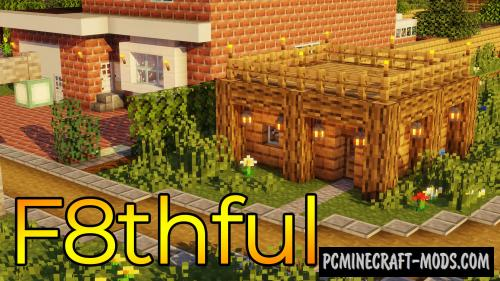 F8thful 8x8 Resource Pack For Minecraft 1.17, 1.16.4, 1.15.2