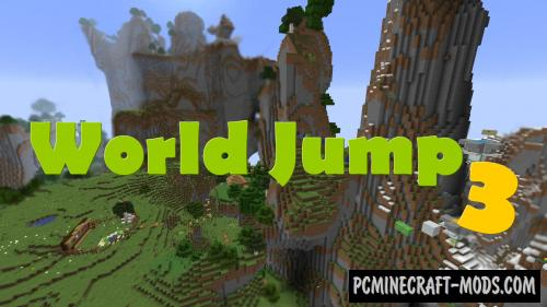 World Jump 3 - Elytra Parkour Map For Minecraft