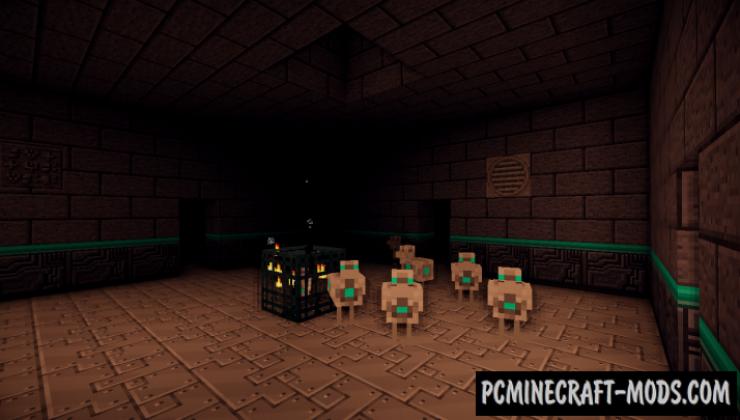 LDShadowLady's Chicken Dungeons Mod For MC 1.12.2