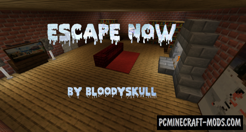 Escape Now - Puzzle Map For Minecraft