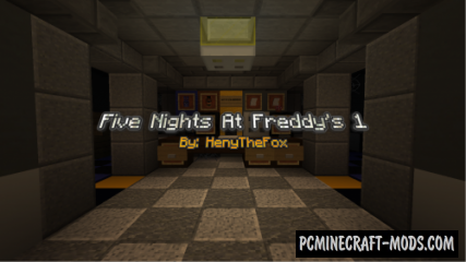 Five Nights At Freddy's by HenyTheFox - Horror Map