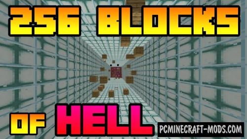 256 Blocks Of Hell - Parkour Map For Minecraft
