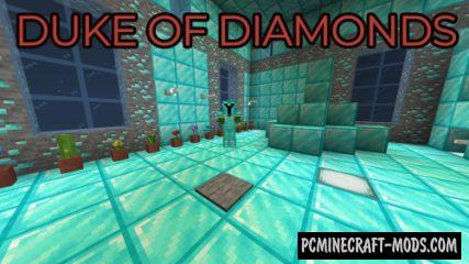 Duke of Diamonds - RPG, Puzzle Map For Minecraft
