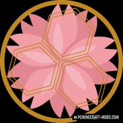 Sakura - Biomes, Weapons Mod For Minecraft 1.12.2