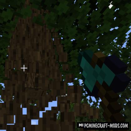 benfah's Timber - Lumberjack Mod For MC 1.16.5, 1.16.4