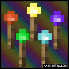 Rainbow Stone - Redstone Mod For Minecraft 1.15.2