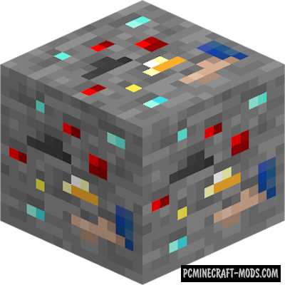 Lucky Ore - New Block Mod For Minecraft 1.16.3, 1.15.2