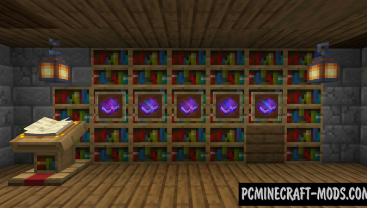 Better Enchanted Books - GUI Mod For Minecraft 1.16.5, 1.16.4