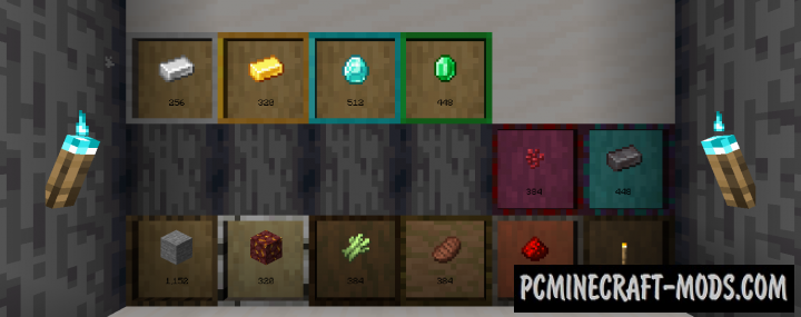 Simple Drawers - New Chests Mod Minecraft 1.16.5, 1.16.4