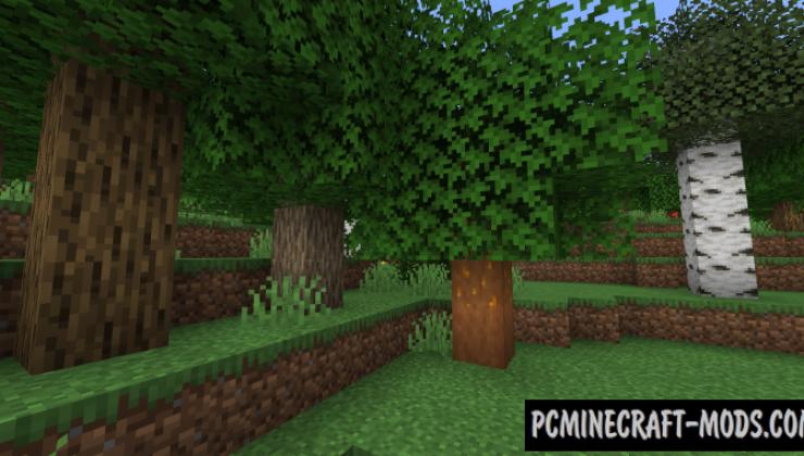 Autumnity - Biome, Mob Mod Minecraft 1.16.5, 1.16.4, 1.14.4