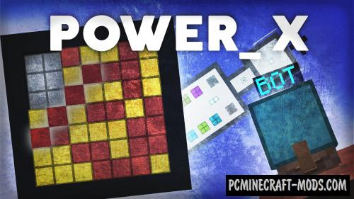 Power_X - Minigame, Puzzle Map For Minecraft