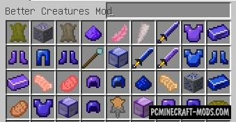 Better Creatures - New Mobs Mod For Minecraft 1.12.2
