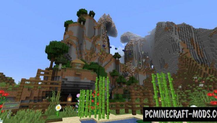World Jump 3 - Elytra Parkour Map For Minecraft