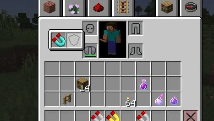Item Magnets - Tool Mod For Minecraft 1.15.2
