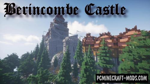 The Berincombe - Castle Map For Minecraft