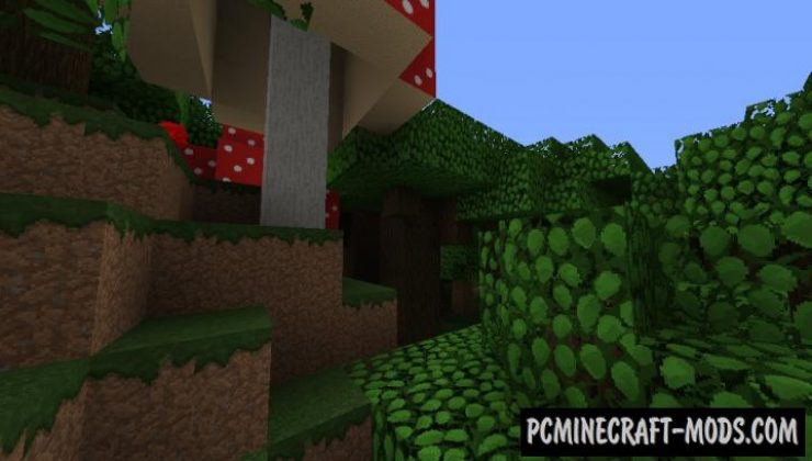 Default-F 32x Resource Pack For Minecraft 1.14.4