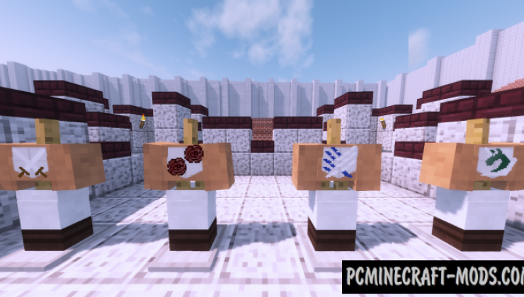Attack on Titan - Guns Mod For Minecraft 1.12.2