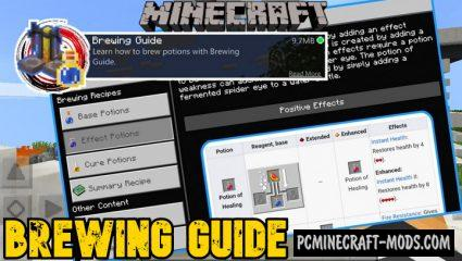 Brewing Guide Addon For Minecraft 1.16, 1.15 iOS/Android