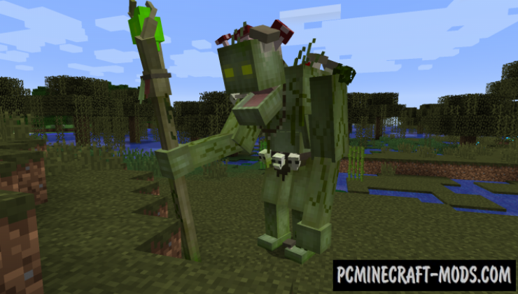 Creatures And Beasts - Mobs Mod For Minecraft 1.15.2, 1.12.2