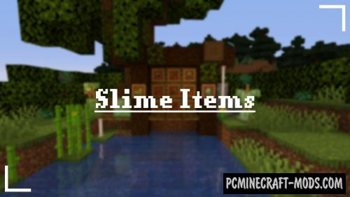 Slime Items Resource Pack For Minecraft 1.15.2