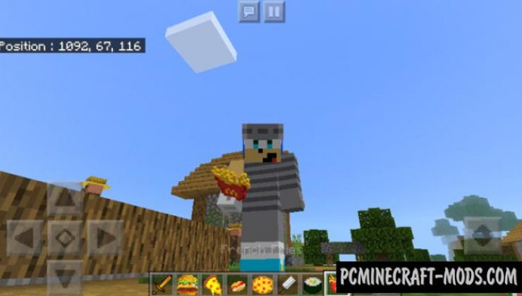 Fast-Foods Addon For Minecraft 1.16.220 iOS/Android