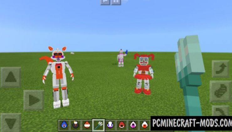 Fnaf Sister Location Addon For Minecraft PE 1.16.220