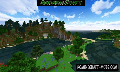 Survivalcraft & Minecraft Resource Pack For MC 1.12.2