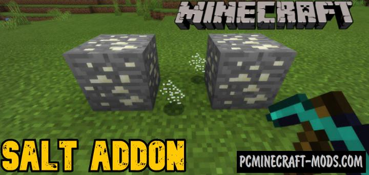 Salt - New Blocks Addon For Minecraft Bedrock 1.16, 1.14