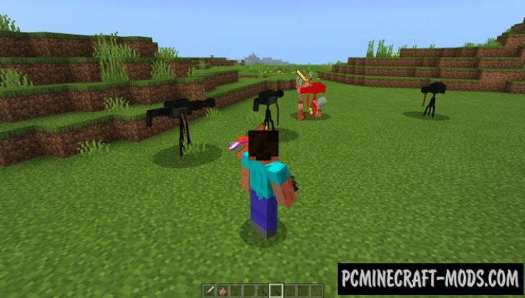 Turrets Addon For Minecraft PE 1.16.220 iOS/Android